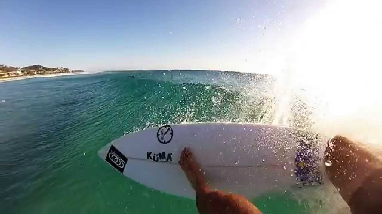 A surfers view