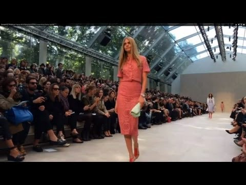 """BURBERRY PRORSUM"" Fashion Show Spring Summer 2014 London By Fashion Channel"