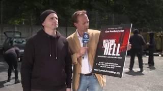 Johannes Schlüter, der Trainer für gewaltbereite Autonome