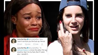 LANA DEL REY DESTROYS AZEALIA BANKS ON TWITTER