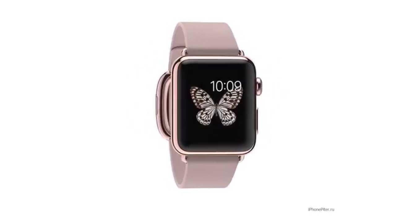 sale retailer ebb66 52090 Apple Watch Edition 18-Karat Rose Gold Case with Rose Gray Modern Buckle