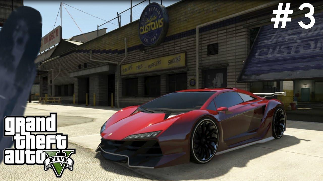 GTA V Serbest Mod - Zentorno, Adder Ve Hayalet - Bölüm 3