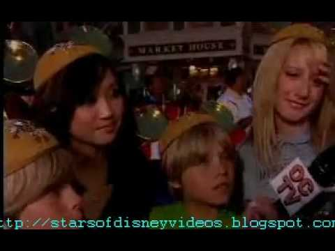 Cole & Dylan Sprouse Brenda Song & Ashley Tisdale Disney Interview