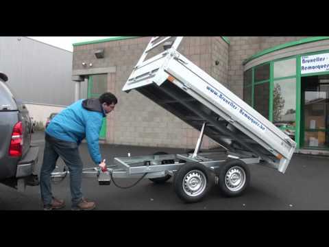 Remorque benne hydraulique fabrication maison doovi for Fabrication presse hydraulique maison