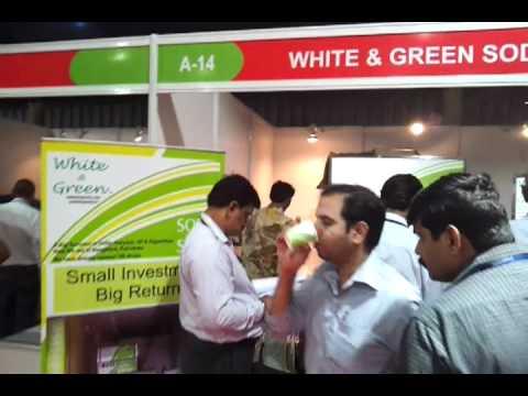 white and green soda shop Bangalore Fair.mp4