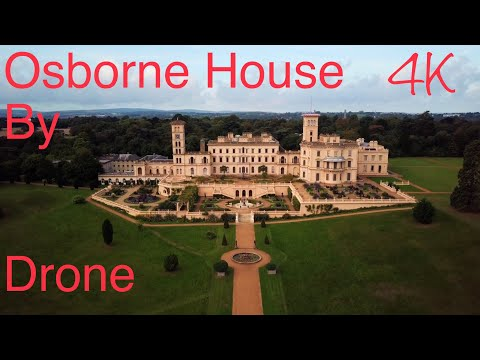 Osborne House - Home of Queen Victoria by Drone 4k