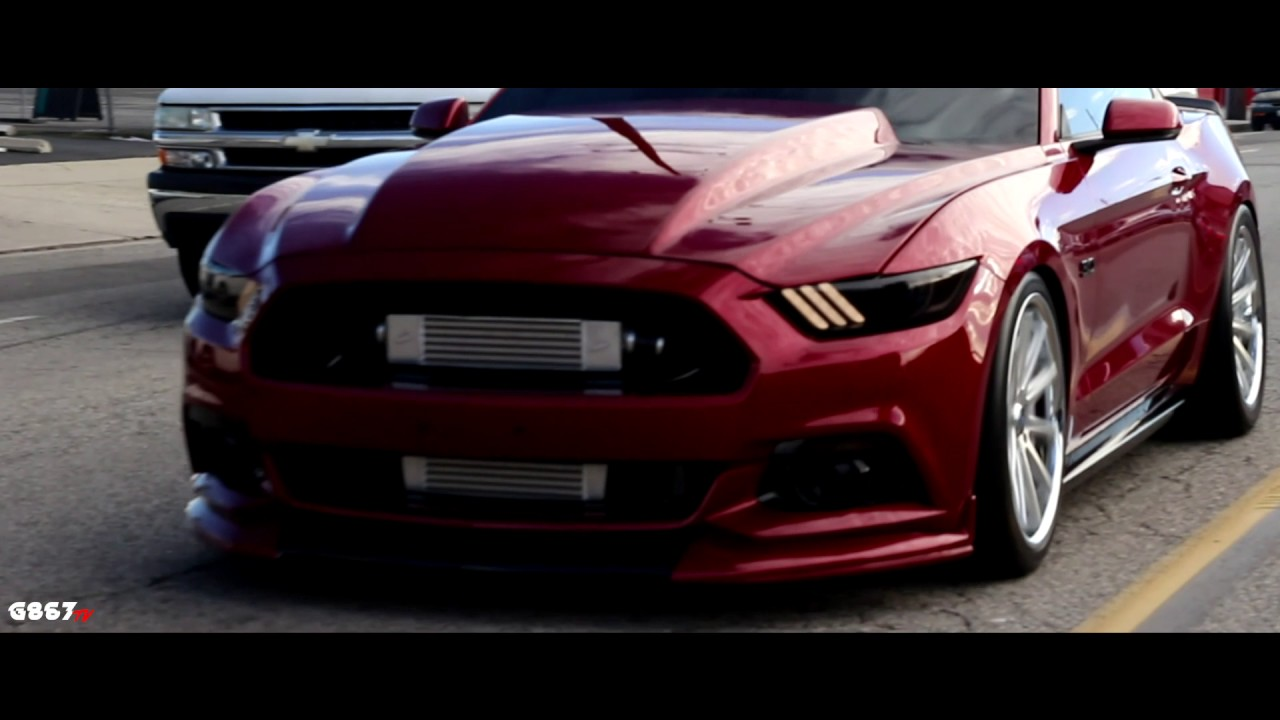 Procharged 6th Gen 5.0 GT [S550] - YouTube