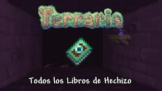 Todos los libros de Hechizos - Terraria 1.3