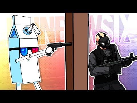 Rainbow Six Siege FUNTAGE! - I Swear Im NOT Cheating!