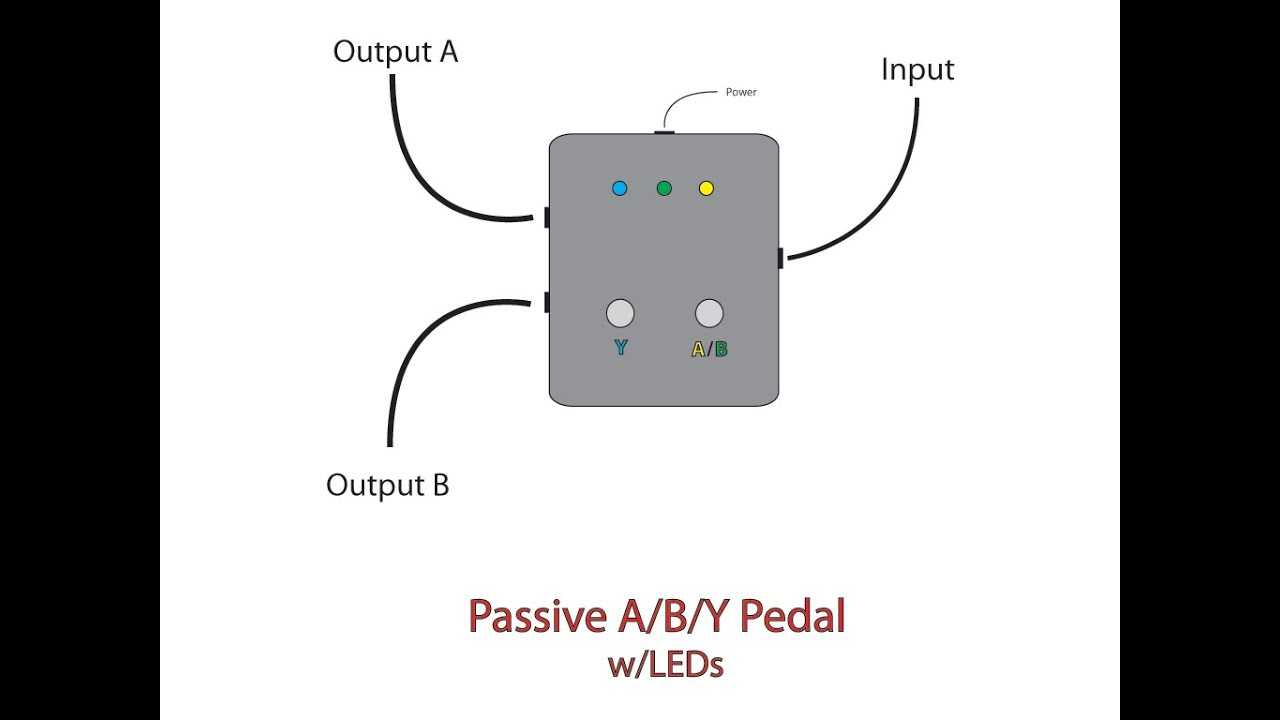 selector switch wiring diagram pedal aby pedal diy build youtube  aby pedal diy build youtube