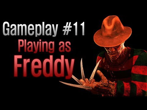 Dead by Daylight - Gameplay #11 Playing as Freddy (The Nightmare)