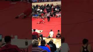 My first wrestling win