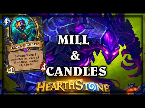 The Darkness Mill & Candles 🍀🎲 ~Kobolds and Catacombs ~ Hearthstone Heroes of Warcraft