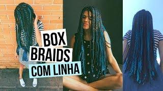 Box Braids com linha de crochê: Como fazer + Tudo sobre minhas tranças