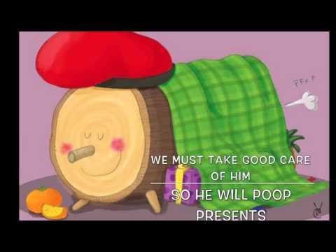 Caga Tió - Pooping log