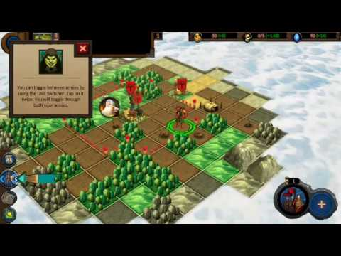 Planar Conquest (by Wastelands Interactive) - strategy game for android - gameplay.