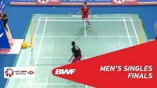 Download Video F | MS | TOMMY Sugiarto (INA) [8] vs CHOU Tien Chen (TPE) [4] | BWF 2018 MP3 3GP MP4
