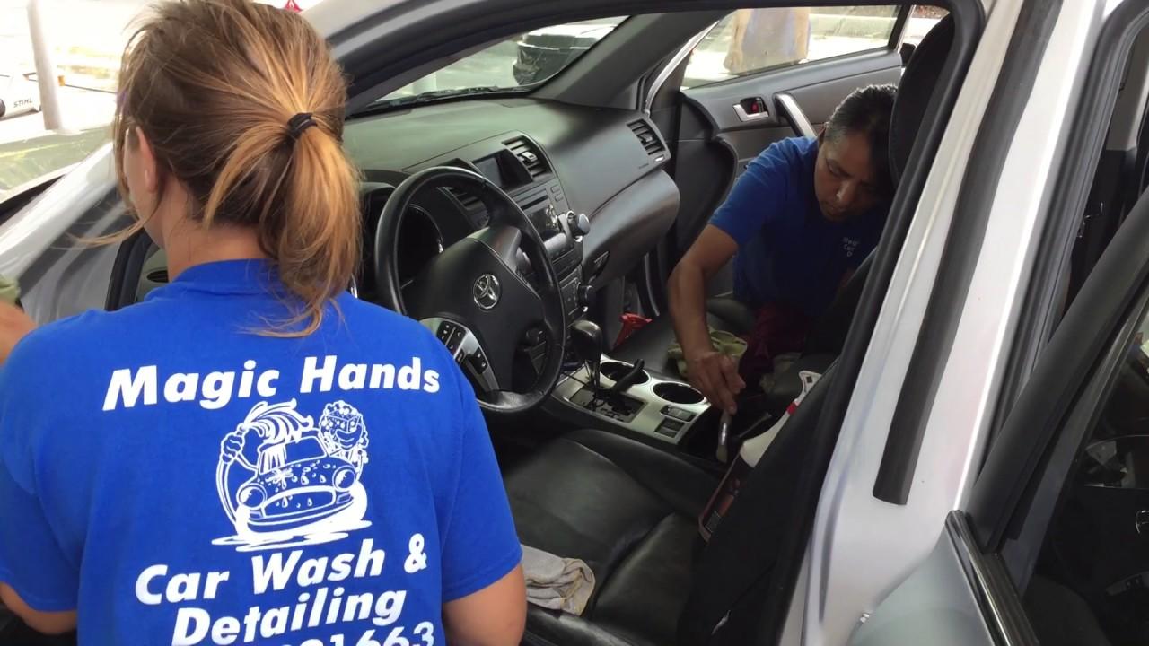 Think, car hand detail job