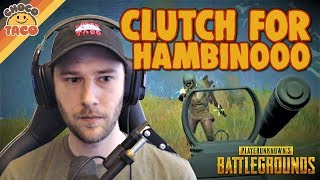 People are Coming Out of Nowhere ft. hambinooo - chocoTaco PUBG Gameplay