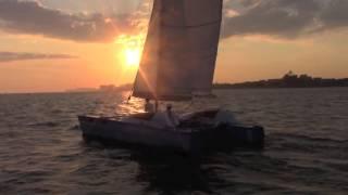 Stiletto Catamaran...extreme fun...best daysailer ever