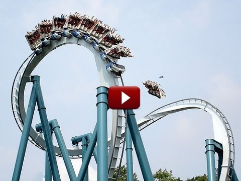 Accident On The Roller Coaster In Orlando Park !!