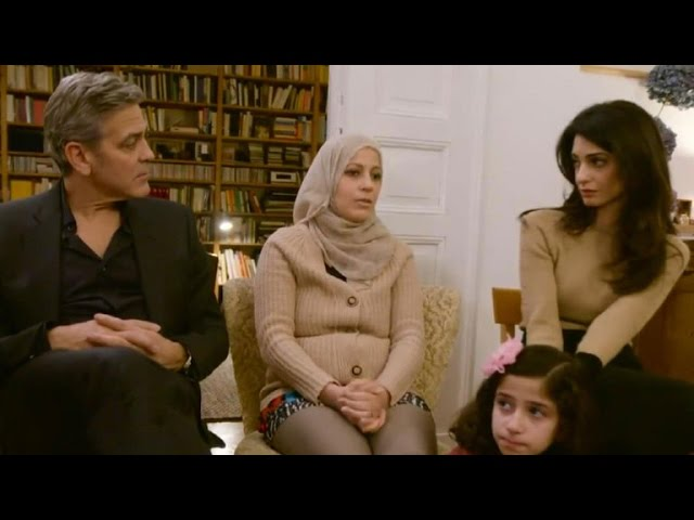 Amal Clooney Shares Her Own Family\'s Harrowing Refugee Story\: We \'Were Lucky\'