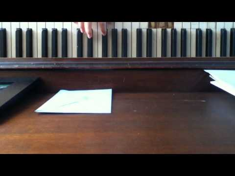 Nothing and everything piano chorus