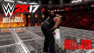 WWE 2K17-Undertaker vs Bray Wyatt -Hell In A Cell Match WWE 2K17 Gameplay At Hell In A Cell (PS4)