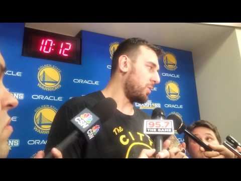 """Bogut on the Warriors energy now back at home: """"Last 10 days have been fantastic"""""""