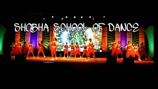 VELAMMAL VIDHYASHRAM | DANCE CHOREOGRAPHY @ SHOBHA SCHOOL OF DANCE | GIRL'S WESTERN | HIP HOP