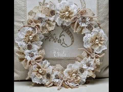 55 ideas for christmas shabby chic decoration d coration - Deco noel shabby chic ...