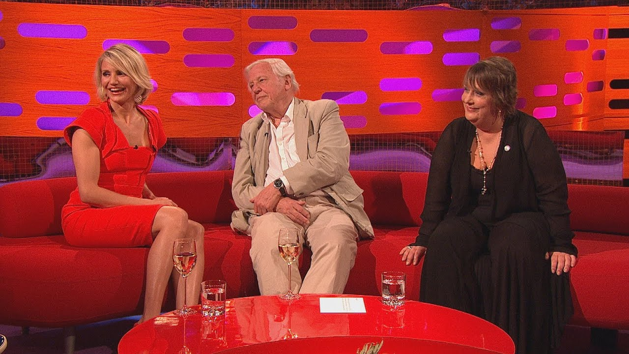 David Attenborough narrates the shoe-mounting tortoise video - The Graham Norton Show - BBC One