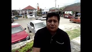 ENTREVISTA AL DIPUTADO JEFTE MENDEZ EN SU VISITA A PLUMA HIDALGO