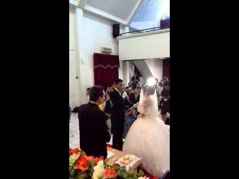 Janji pernikahan arnold dan ivana