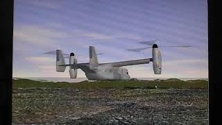オスプレイの離陸  //  Osprey will take off the runway