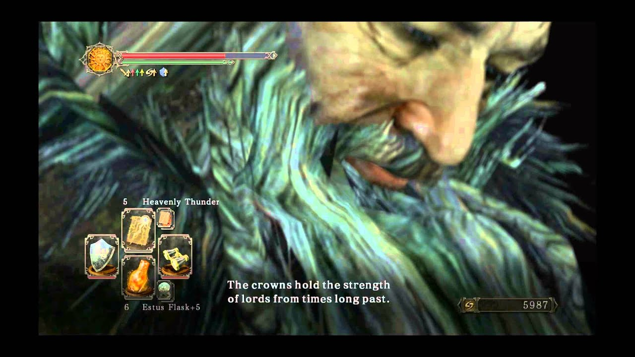 Dark Souls 2 DLC Part - King Vendrick in human form - YouTube
