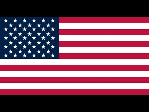 Fifty Nifty United States Song with all 50 State Flags
