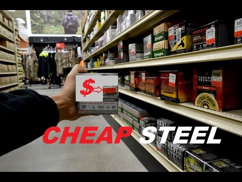 Save Money On Steel Shot Ammo! Beginner Waterfowl Tips