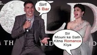 Akshay Kumar & Mouni Roy's FUNNY MOMENTS At GOLD Music Launch Event