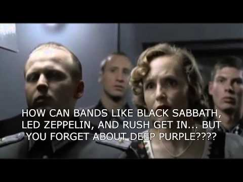 Hitler Finds Out Deep Purple Is Snubbed by Hall Of Fame...AGAIN