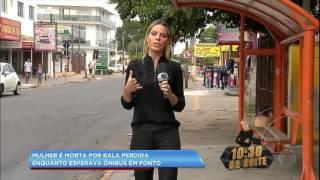 Download Video Mulher é morta por bala perdida enquanto esperava ônibus MP3 3GP MP4