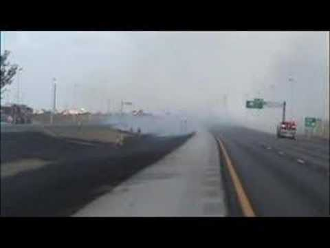 Sawgrass Expressway Fire