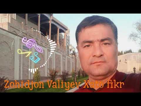 ZOHIDJON VALIYEV XATO