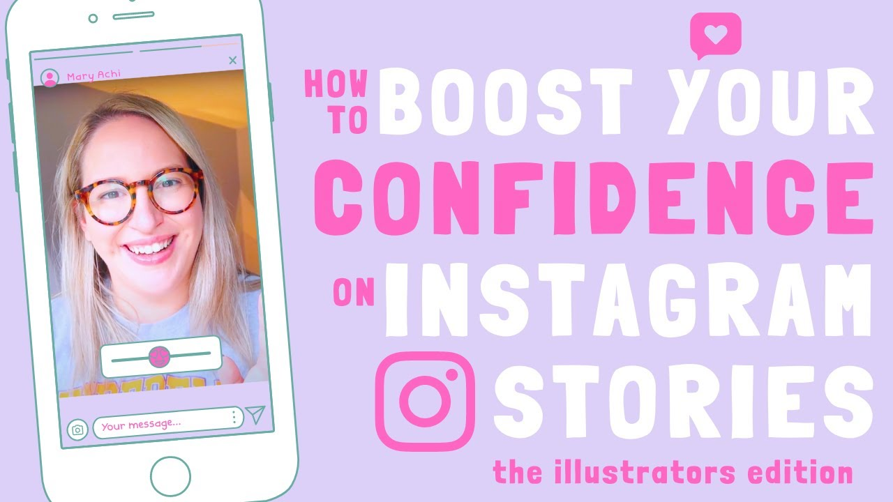 HOW TO BOOST YOUR CONFIDENCE ON INSTAGRAM STORIES! | Top 10 Tips for Illustrators | Emily Harvey Art