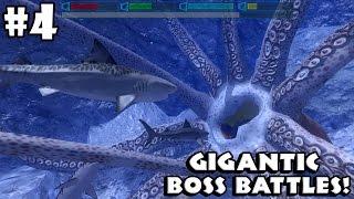 Ultimate Shark Simulator - BOSS BATTLES - Android/iOS - Gameplay Part 4