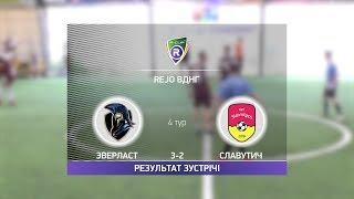 Обзор матча Эверласт Славутич R CUP Турнир по мини футболу в Киеве