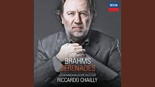 Brahms: Serenade No.1 in D Major, Op.11 - 1. Allegro molto
