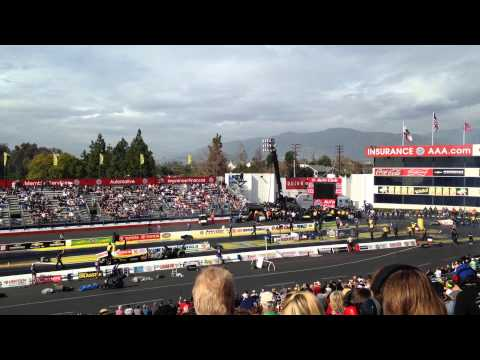Fastest run in top fuel history