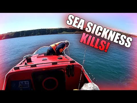 Boat Fishing! Sea Sickness Strikes Whilst Sea Fishing! - 1 Hour Special Fishing Video