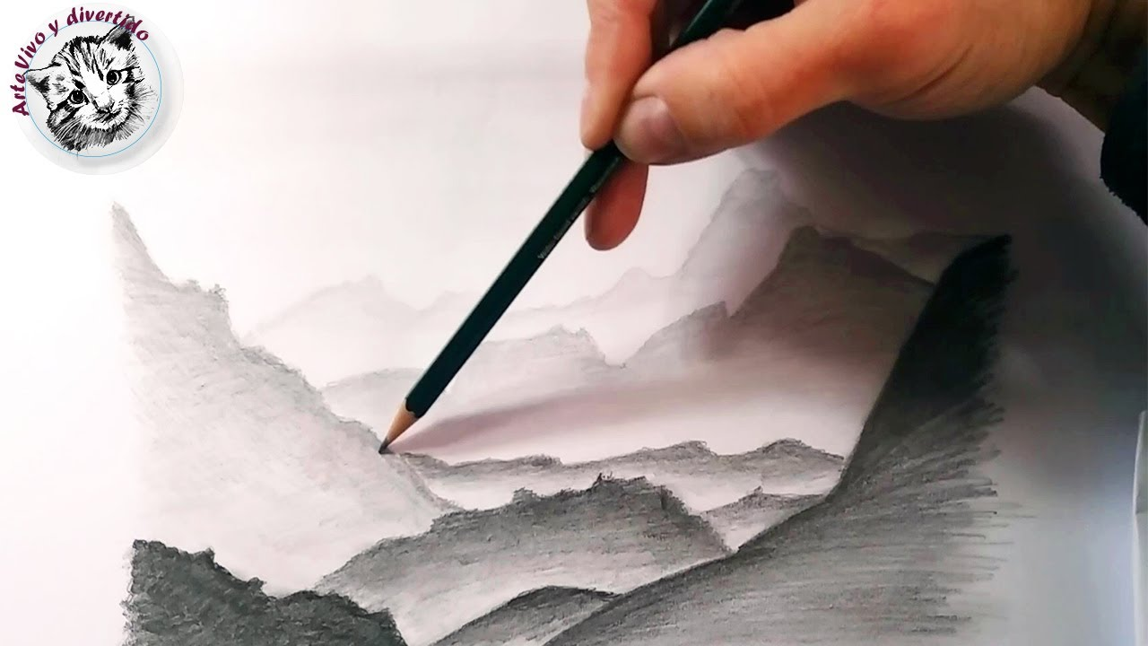 Tecnicas Para Dibujar: Mas Tecnicas De Dibujo A Lapiz: Cómo Dibujar Paisajes Y